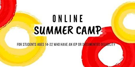 Free Online Summer Camp tickets