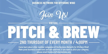 Business Network Membership 365: Pitch & Brew tickets