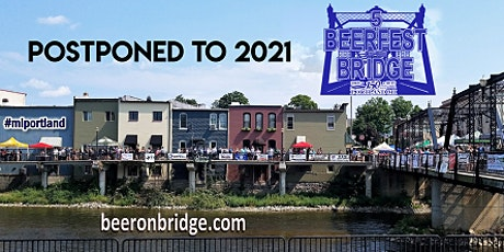 POSTPONED Beerfest on the Bridge  New Date  8/14/2021  tickets