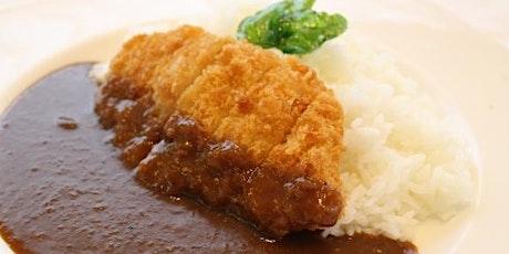 Katsu Curry Cooking class online tickets