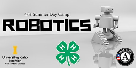 Robotics- 4-H Summer Day Camp tickets
