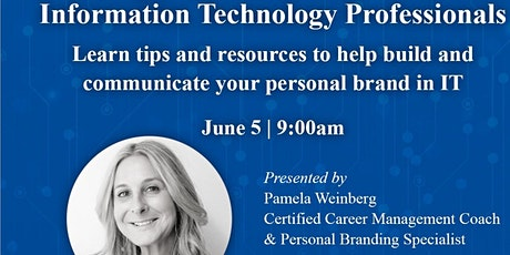 Building your Professional Brand for IT Professionals tickets