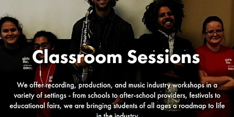 SA Sound Garden: Music Production: After School Camp tickets