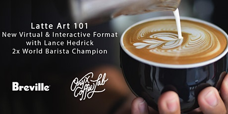 Latte Art 101 Presented by Onyx Coffee Lab and Breville tickets