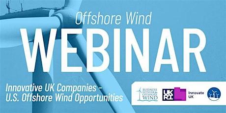 Innovative UK Companies - U.S. Offshore Wind Opportunities tickets