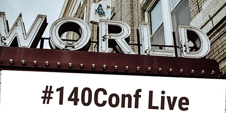 140ConfLive (#2) via Zoom tickets