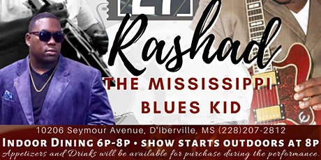 Rashad the Mississippi Blues Kid tickets