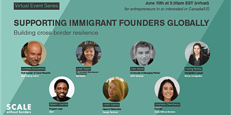 Supporting Immigrant Founders Globally tickets