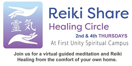 Reiki Share Healing Circle at First Unity Spiritual Campus tickets