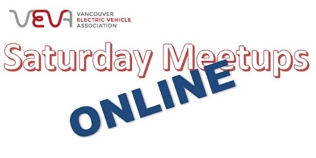 Vancouver electric Vehicle Association 'on-line Meet-up' tickets