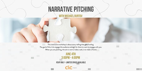 Narrative Pitching with Michael Burtov tickets