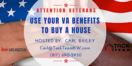 Attention Veterans: Use Your VA Benefits to Buy a House (Dallas) tickets