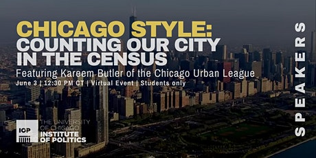 Chicago Style: Counting Our City in the Census tickets