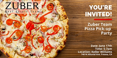 Zuber Client Appreciation Pizza Pick-up Party tickets