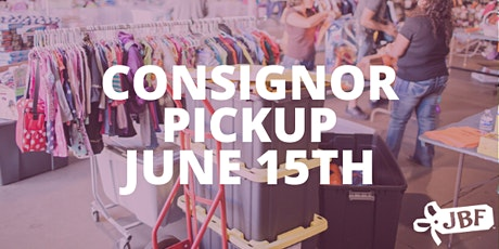 Consignors Only - NOVEL JBF Elk Grove Unsold Items Pick Up Appointment tickets