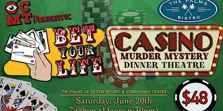 Casino Murder Mystery Dinner Theatre tickets