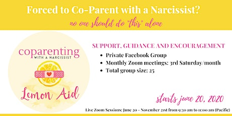 Coparenting with the Narcissist tickets
