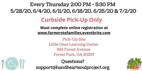 Hand Heart Soul Project: Farmers to Families Food Box Distribution tickets