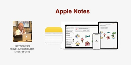 Apple Notes tickets