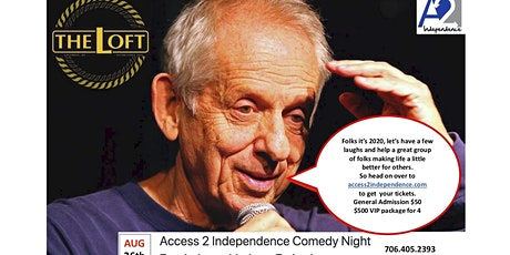 Access 2 Independence Comedy Fundraiser hosted  by Jerry Farber tickets