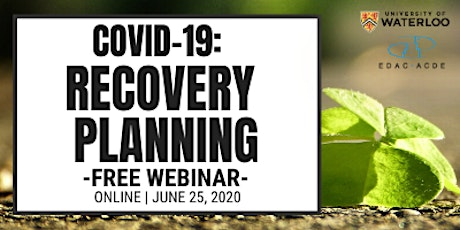 COVID-19: Recovery Planning tickets