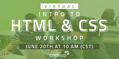 Codeup Virtual Learn to Code Workshop – HTML & CSS (Intro to Web Dev)