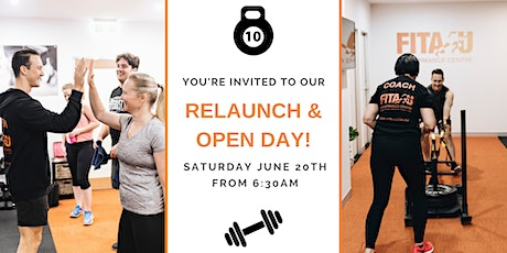 Relaunch & Open Day tickets