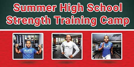 High School Strength Training Camp (25 spots available each week) tickets