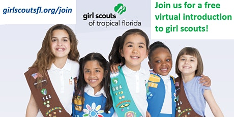 Discover Girl Scouts of Tropical Florida: Interactive Information Session tickets