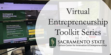 Virtual Entrepreneurship Toolkit Series tickets