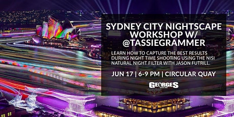 Sydney City Nightscape Workshop w/ @Tassiegrammer tickets