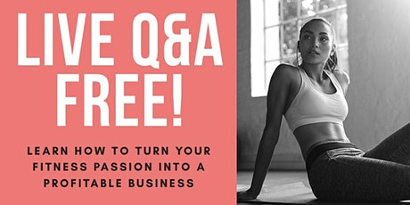 Sales Training/Q&A for Personal Trainers & Fitness Coaches tickets
