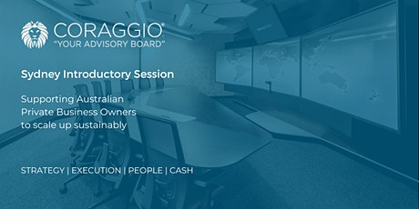 Coraggio Introductory Session, Sydney tickets