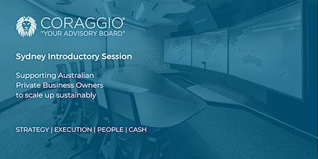 Coraggio Introductory Session, Sydney tickets