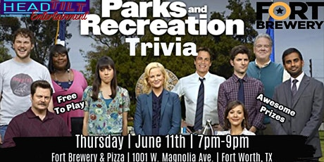 Parks and Rec Trivia at Fort Brewery- Ft. Worth, TX tickets