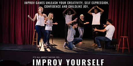 Improv Yourself In-Person! tickets
