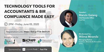 Technology Tools for Accountants & BIR Compliance