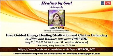 Free Guided Energy Healing/Meditation and Chakra Balancing tickets