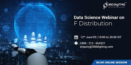Data Science Free Webinar | F Distribution tickets