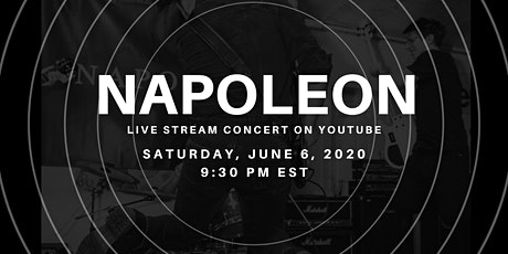 Napoleon - Live on Youtube tickets