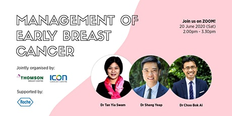 Management of Early Breast Cancer tickets
