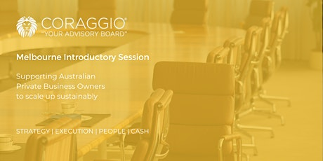 Coraggio Introductory Session, Melbourne tickets