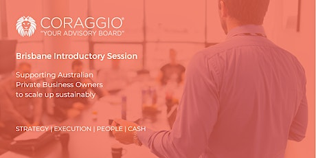 Coraggio Introductory Session, Brisbane tickets