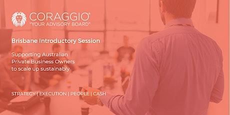 Coraggio Introductory Session, Brisbane tickets
