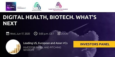 Trends in Healthech, Biotech: leading VC panel and pitching tickets