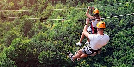 Zip line + Aerial Adventure Through the Forest tickets