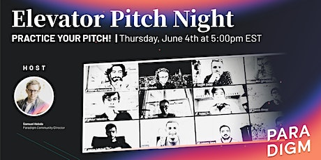 Elevator Pitch Practice Session tickets