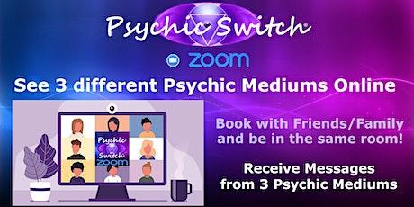 Online Psychic Switch Zoom Event tickets