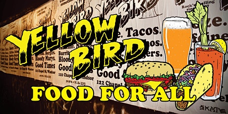 YELLOW BIRD 'FOOD FOR ALL' tickets