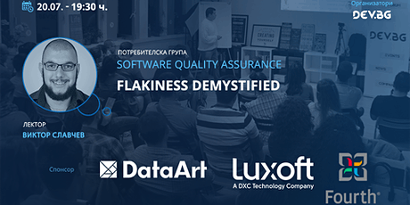 Webinar: Software QA: Flakiness demystified tickets